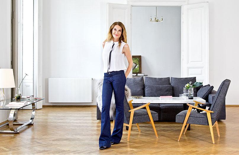 Zu Hause bei Nicole Adler in Wien