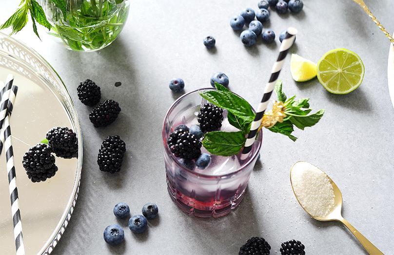 Beerig erfrischend: Ein fruchtiger Summercocktail