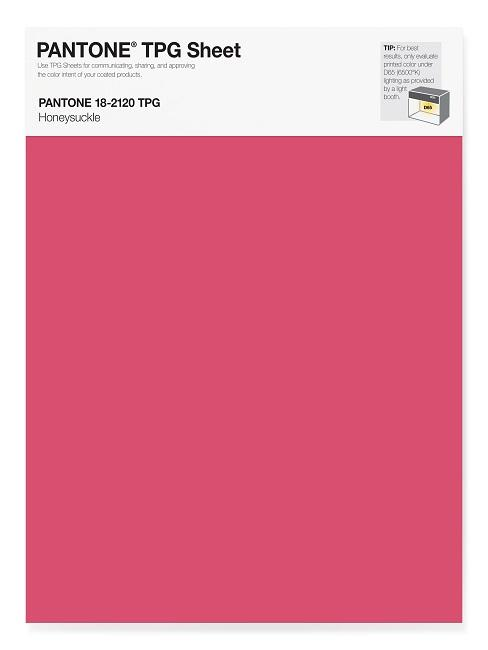Pantone Trendfarben Honeysuckle