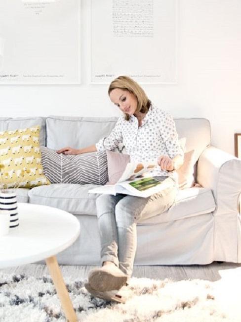 Butiksofie Anja Schopf Wohnzimmer Sofa