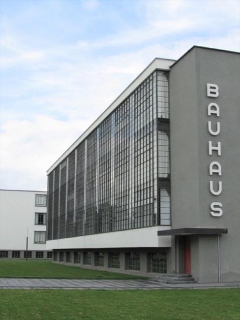 Abbildung des Bauhaus Gebäudes