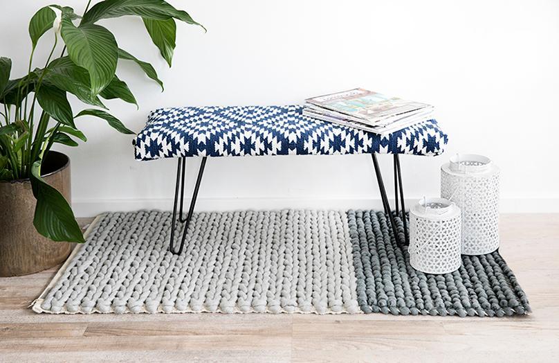 DIY: Čalouněná lavička