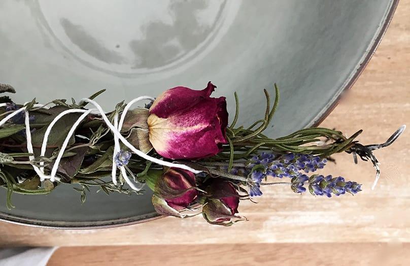 DIY Voňavá kytica