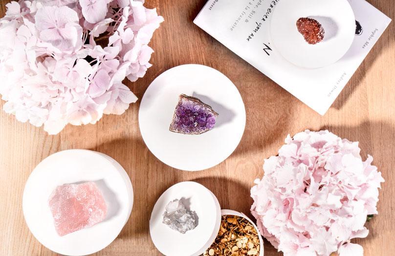 DIY Boîtes décorées de cristal