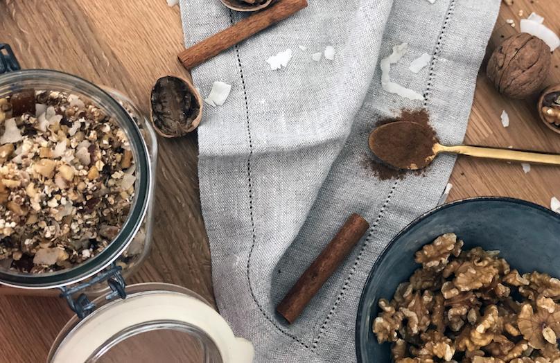 Rawnola : Granola sans cuisson