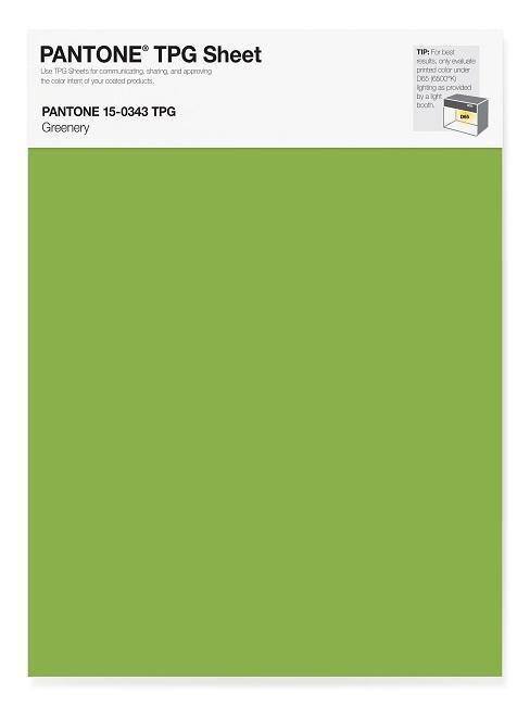 Pantone Trendfarben Greenery