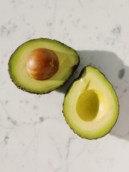 aguacate abierto