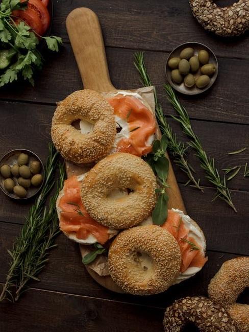 Pane e salmone