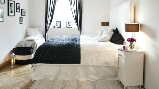 Bett selber bauen mit hohem Bett