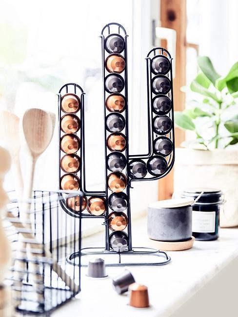Capsule per caffè in portacapsule