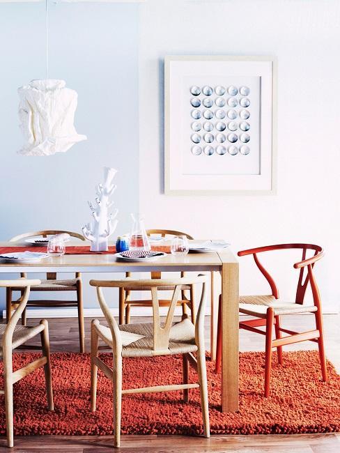 Wishbone Chair Esszimmer Esstisch
