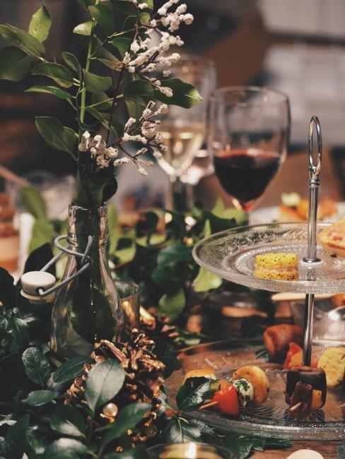 vino y comidas para navidad
