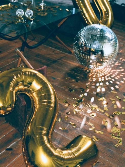 globo con numero 2