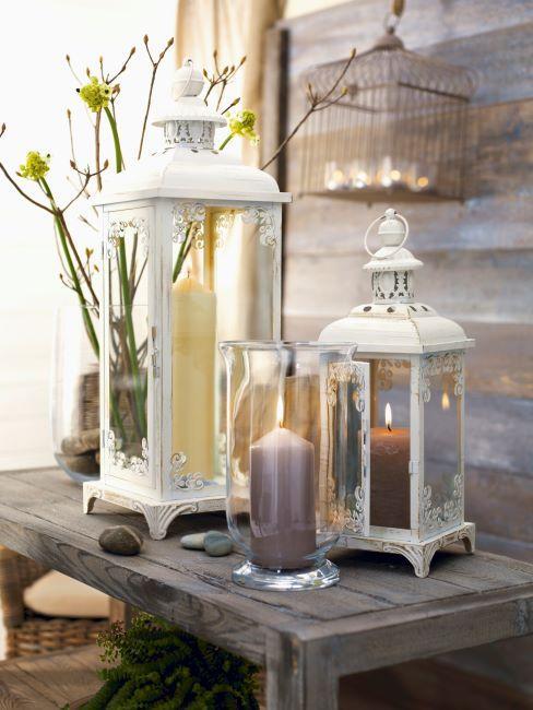 lanternes vintage