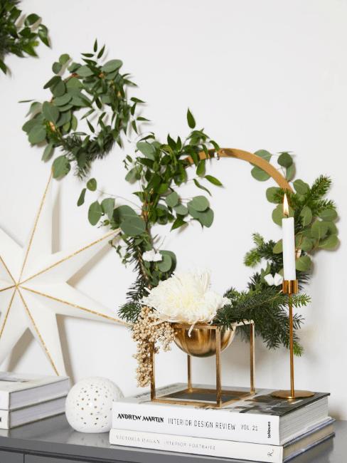 ghirlanda natalizia di eucalipto