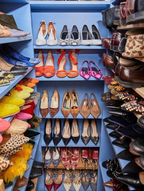 Cabina armadio per scarpe