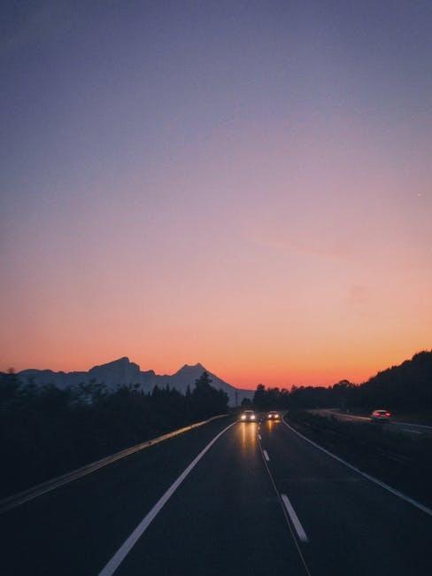 Strada senza traffico