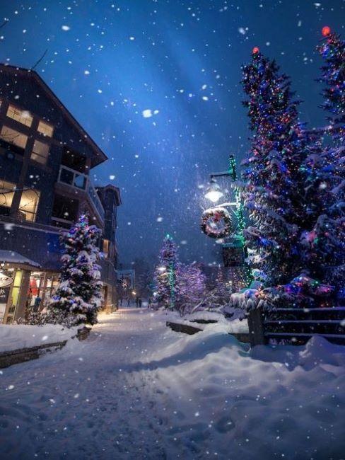 natale in italia neve