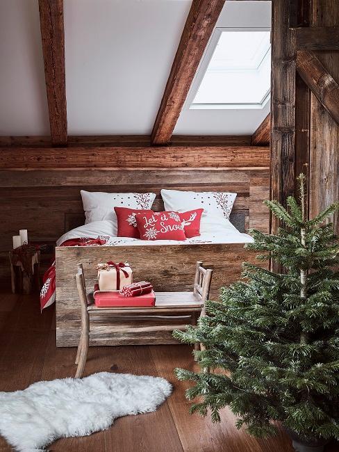 Come decorare la camera da letto per natale