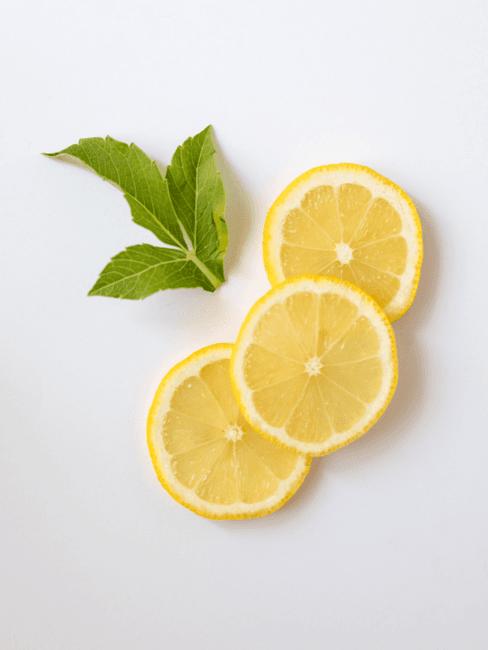 Badkamer schoonmaken met citroenschijfjes