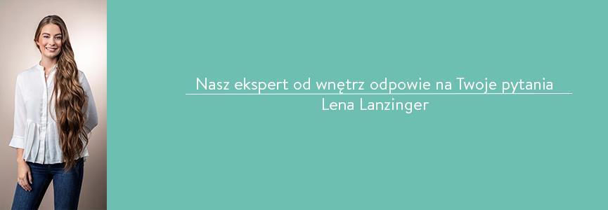 Ekspert Westwing Lena Lanzinger odpowiada na pytania