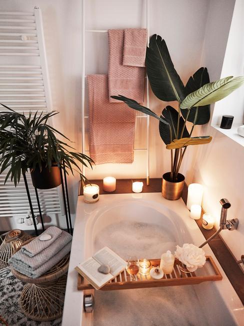 Łazienka urządzona w trendzie mindfulness we wnętrzach