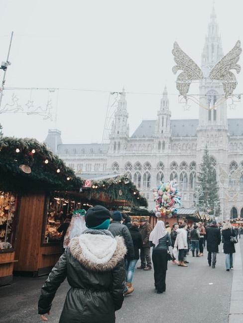 Jarmark świąteczny w Europie