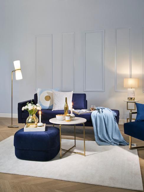 Wohnzimmer im Art Deco Stil