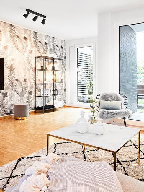 Wohnzimmer im Skandi Glam Look von Christina Biluca