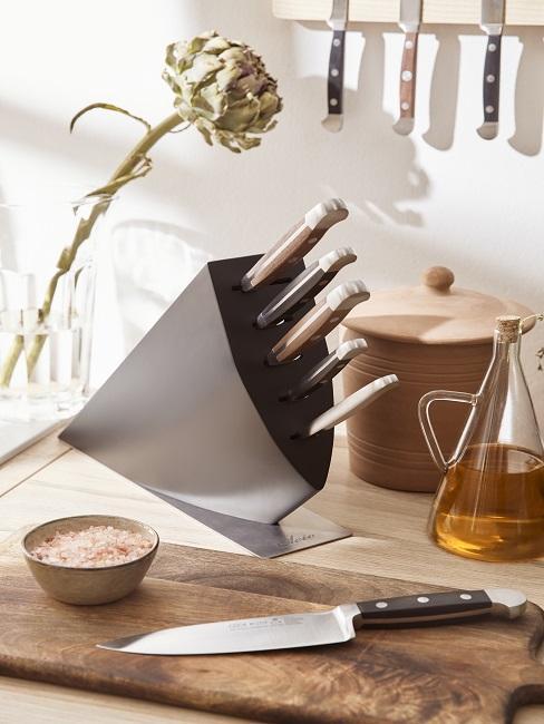 Messerblock mit Kochmessern