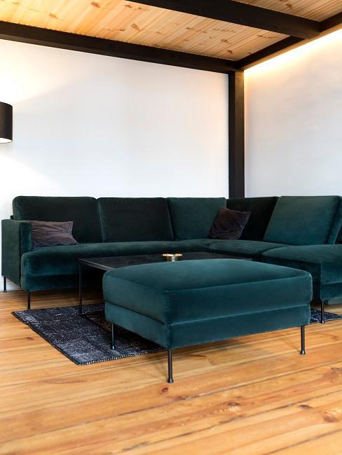 Eugen Bauder Sofa unter Hochbett Wohnzimmer