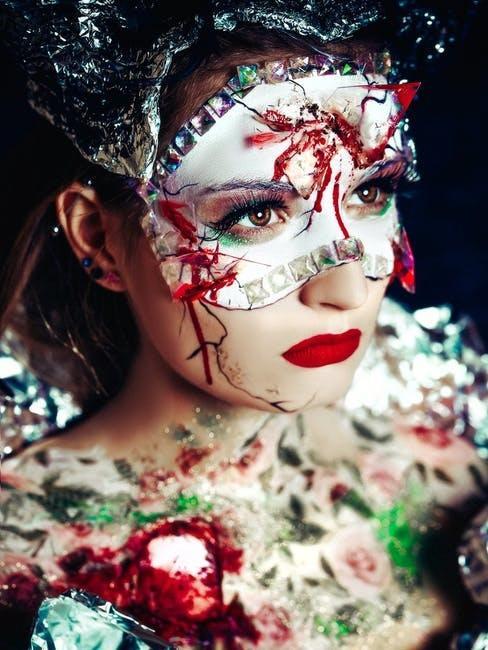 Donna in maschera