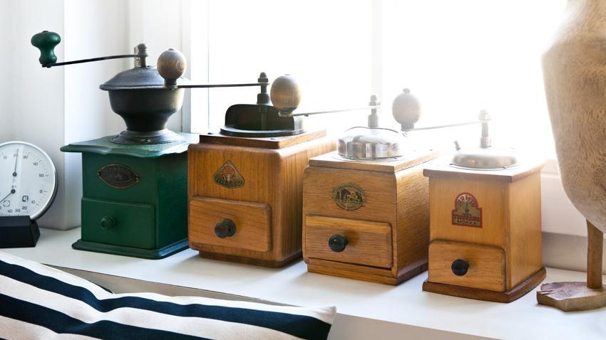 Kaffeemühle Holz
