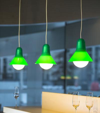 Kera Interior Hängeleuchte Grün
