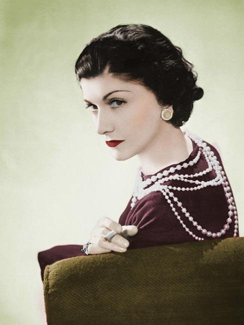 Portrait von Coco Chanel