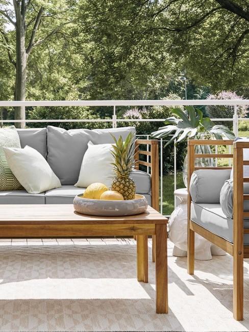 set lounge de exterior