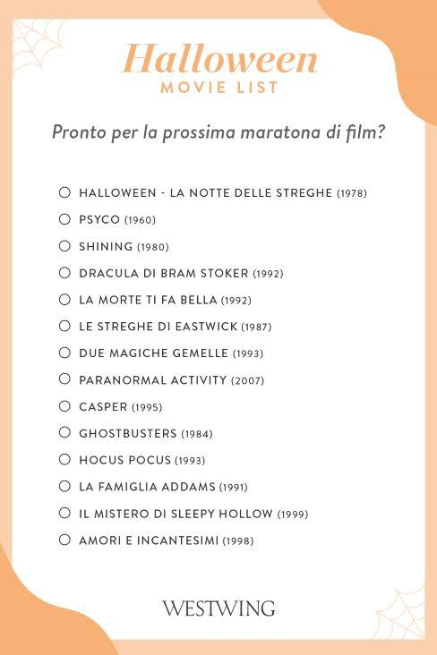 halloween movie list