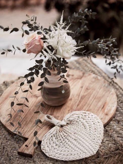decorazioni e fiori matrimonio shabby chic