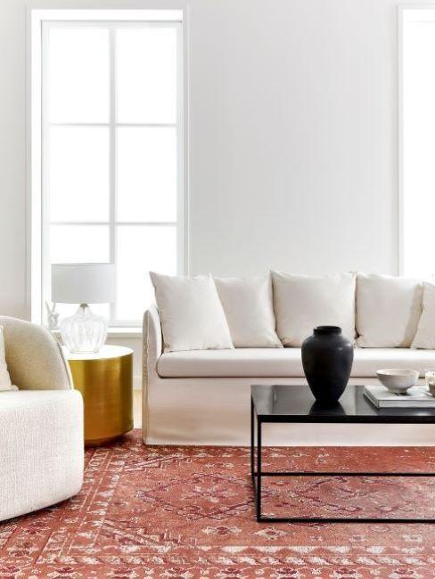 divano mila tappeto
