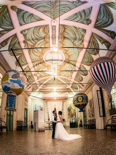 Castello di San Pelagio: la sala da ballo