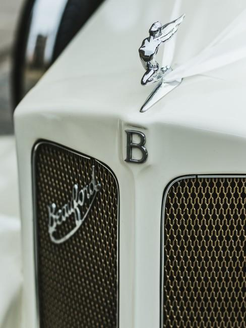 Bentley auto voorkant grill