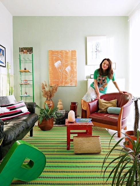 Kolorowe wnętrze autorki bloga Style Recital