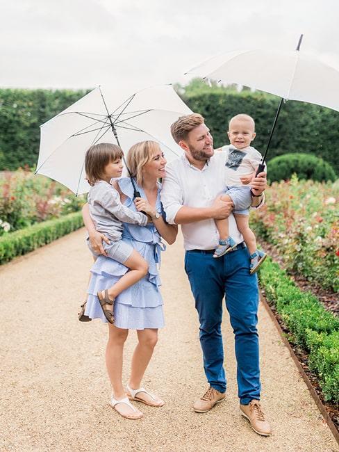 Bloggerka Agnieszka Kudela z rodziną