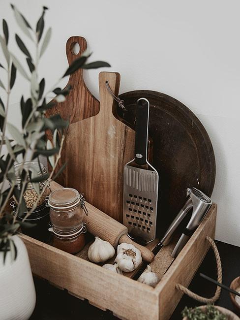 Drewniane deski do krojenia