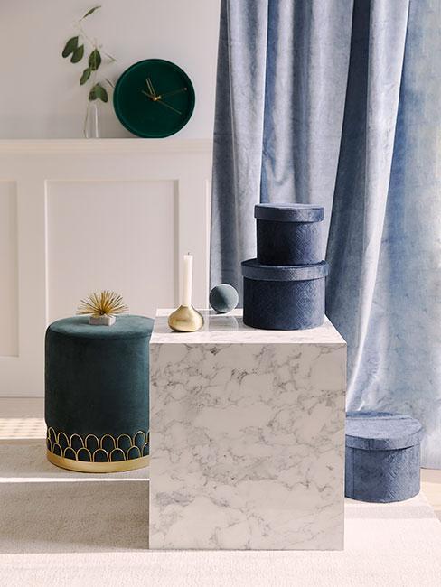 Meble i dekoracje z aksamitu