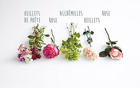 DIY : un bouquet de fleurs suspendu