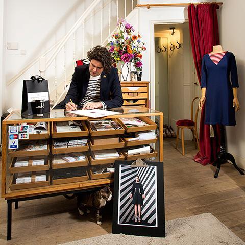 Dans l'univers de Michael Barnaart van Bergen, styliste de mode