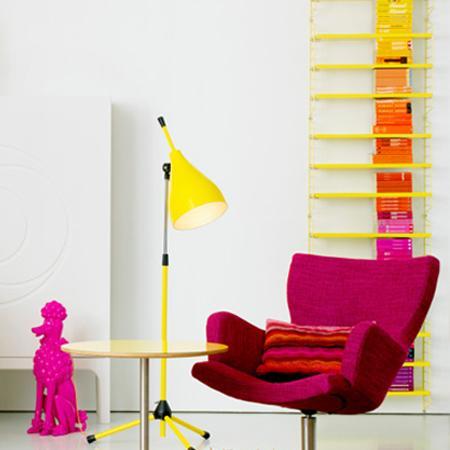 Comment décorer un intérieur avec des couleurs vives