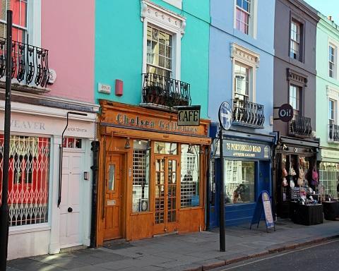 Notting Hill - Un giardino di colori