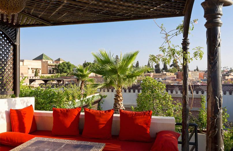 Una terrazza a Marrakech - Stile en plein air